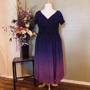 Eshakti star print Dress